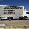 Ankara Evkur Nakliyat  Ankara Çankaya Parça Eşya Taşıma