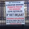 Ket İnşaat Cephe Sistemleri İzmir Menderes Alüminyum Doğrama