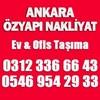 Özyapı Nakliyat Ankara Etimesgut Şehirler Arası Nakliyat