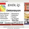 Emir İç Dekorasyon Zonguldak Çaycuma İç Cephe Mantolama